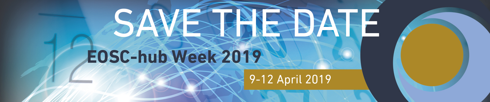 Save the Date - EOSC-hub Week 2019