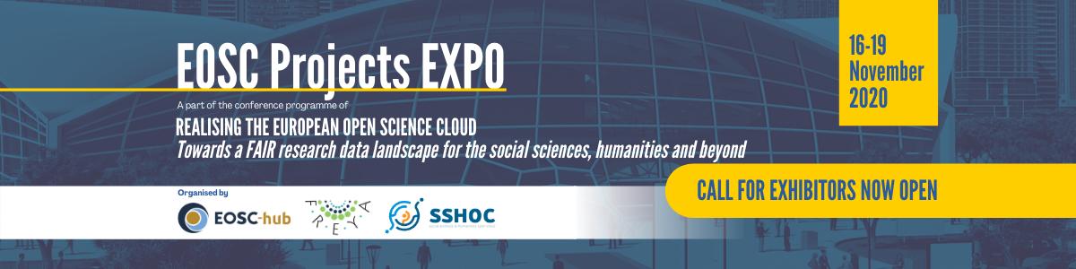 https://www.eosc-hub.eu/events/realising-european-open-science-cloud/eosc-projects-expo